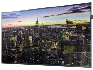 Samsung QB65H 64.5? UHD Signage Monitor